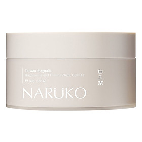 Naruko Bạch Ngọc Lan - Mặt Nạ Ngủ Taiwan Magnolia Brightening And Firming Night Gelly Ex (80g)