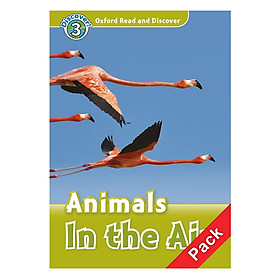 Hình đại diện sản phẩm Oxford Read and Discover 3: Animals In the Air Audio CD Pack