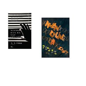 Combo 2 cuốn sách: Người đàn bà sau cửa sổ  + Nhân chứng đã chết