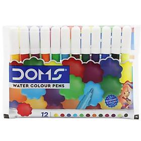 Hộp Bút Lông Màu Mini DOMS 12 Màu 3497