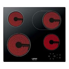 Bếp Âm Hồng Ngoại 4 Bếp Lofra Venere 60 (58cm - 7600W) - Hàng Chính Hãng