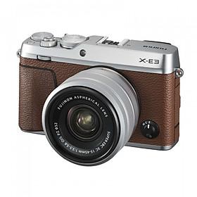 Máy Ảnh Fujifilm X-E3 (Nâu) + Lens 15-45mm - Hàng chính hãng