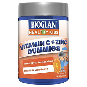 Bioglan Kids Vitamin C + Zinc 70 Gummies