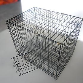 Lồng sắt chó mèo ( 50x37x40)