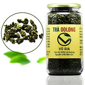 Trà Oolong Nguyên Chất Bảo Lộc Vũ Gia (400gr/hũ) - Nguyên liệu nấu trà sữa trân châu thơm ngon tại nhà, giảm cân an toàn