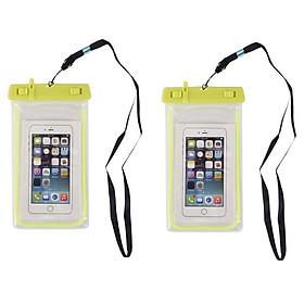 Hai túi đựng điện thoại chống nước giao màu ngẫu nhiên