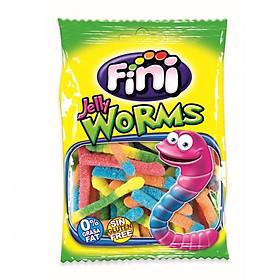 Kẹo dẻo FINI Fizzy Worms 100g