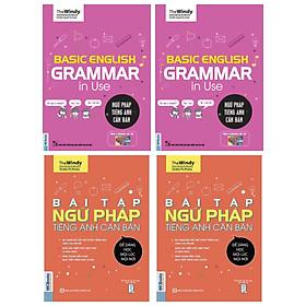 Combo Trọn Bộ Luyện Ngữ Pháp Tiếng Anh Phiên Bản ChiBi ( Basic English Gramma In Use: Ngữ Pháp Tiếng Anh Căn Bản + Bài Tập Ngữ Pháp Tiếng Anh Căn Bản )