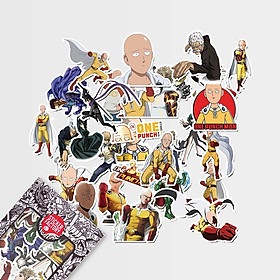 One-Punch Man - Set 30 sticker hình dán