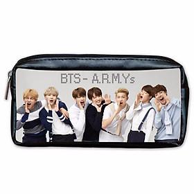 Hộp bút Bóp Viết Túi bút in hình nhóm BTS Bangtan Boys