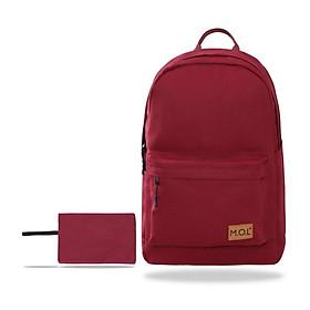 Balo : M.O.L Basic Backpack- Canvas