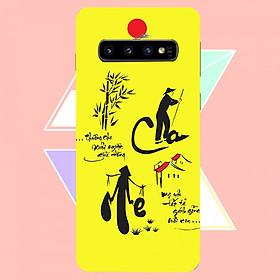 Hình đại diện sản phẩm Ốp Lưng Dành Cho Máy Samsung S10 Ốp Cứng Viền Dẻo Cao Cấp Mẫu Hình Sao Biển Ốp Cao Cấp, Siêu đẹp,Siêu Hot