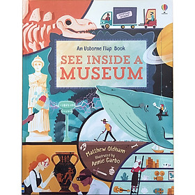 Usborne See Inside A Museum