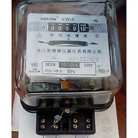 """Công tơ điện 1 pha 2 dây ( Đồng hồ điện gia đình , phòng trọ ) giá chỉ còn <strong class=""""price"""">99.000đ</strong>"""