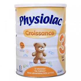 Sữa Dinh Dưỡng Công Thức Physiolac Croissance 3 (900g)