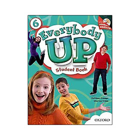 Everybody Up 6 Student Book with Audio CD Pack