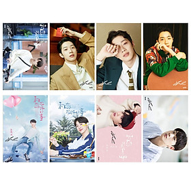 Bộ poster 8 tấm Lai GuanLin Wanna one