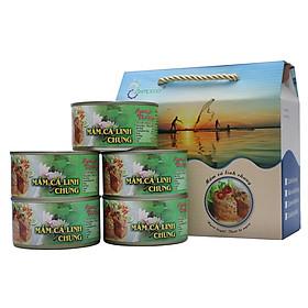 Thùng (06 hộp) Mắm cá linh chưng - Antesco