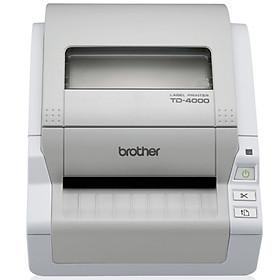 Máy in nhãn Brother TD-4000 - Hàng chính hãng