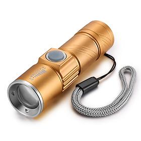 Đèn pin mini Q5 sạc USB ( NHỎ GỌN, SIÊU SÁNG )