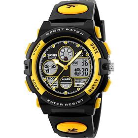 SKMEI 1163 Watches Kids Outdoor Sports Children Watch Digital Quartz Wristwatch for Boys Girls Watches with PU Strap