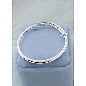 Vòng tay, lắc tay bạc cho trẻ em, chất liệu bạc ta cao cấp an toàn sức khỏe cho bé yêu. Bạc BSJ