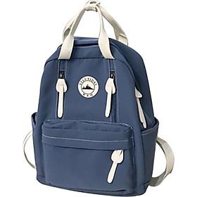 Girls Backpack Travel Backpack College Style Waterproof Female Laptop Bag Ring Buckle