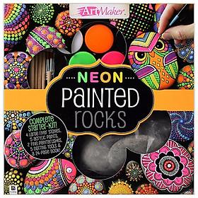 Neon Painted Rocks Deluxe Kit