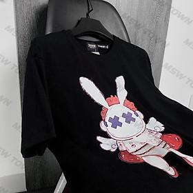 Áo thun tay lỡ in hình Thỏ Tóc Đỏ , áo phông cotton cao cấp
