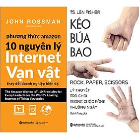 Combo Phương Thức Amazon – 10 Nguyên Lý Internet Vạn Vật + Kéo Búa Bao