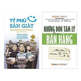 Combo Tỷ Phú Bán Giày (Tái Bản 2018) + Những Đòn Tâm Lý Trong Bán Hàng (Tái Bản 2018) (2 Cuốn)