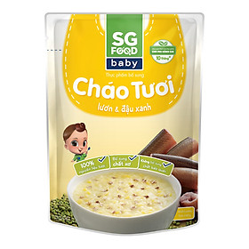 Cháo Tươi Baby Lươn Đậu Xanh SG Food (240g)