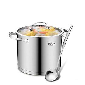 Hình đại diện sản phẩm Debo Germany platinum Brett stainless steel 304 household induction cooker soup pot bottom 22cm