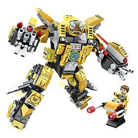 Đồ chơi lắp ghép Robot Biến Hình MK Series chi tiết Bằng nhựa ABS an toàn  LegoStyle