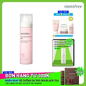 Xịt khoáng dưỡng sáng innisfree Jeju Cherry Blossom Mist 120 ml - 131172153