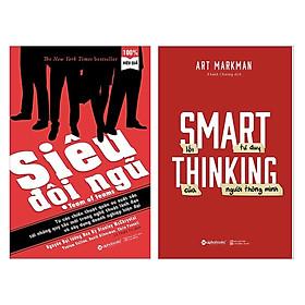 Combo 2 Cuốn Sách Kỹ Năng Sống Hay :  Siêu Đội Ngũ +  Lối Tư Duy Của Người Thông Minh (Tặng kèm Bookmark Green Life / Bộ Sách Thay Đổi Tư Duy Lối Mòn)