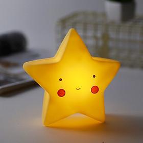 Đèn ngủ để bàn sạc pin nhiều hình khối dễ thương - mẫu giao ngẫu nhiên