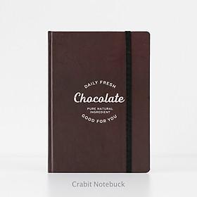 Sổ tay grid Crabit - Milk Collection - Sổ tay ruột ô vuông, ghi chép, làm bullet journal