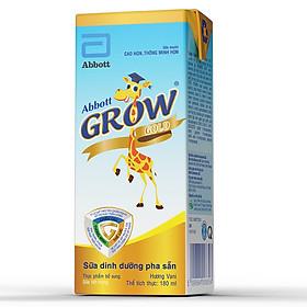 Thùng 48 Hộp Sữa Công Thức Pha Sẵn Abbott Grow Gold Hương Vani (180ml)