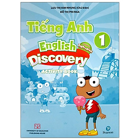 Tiếng Anh 1 English Discovery - Activity Book