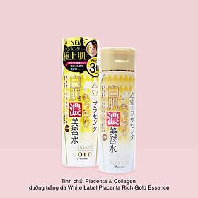 Tinh Chất Essence Đậm Đặc Nhau Thai Và Collagen Dưỡng Da Trắng Mịn Mờ Thâm Sạm Ngăn Ngừa Lão Hóa Từ Nhật Bản White Label Premium Placenta Rich Gold Essence-1