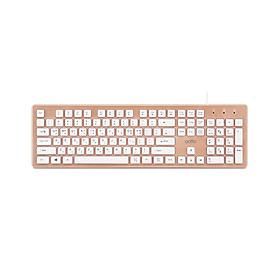 Bàn phím văn phòng có dây - Aurora Keyboard Actto KBD-46 - Hàng chính hãng