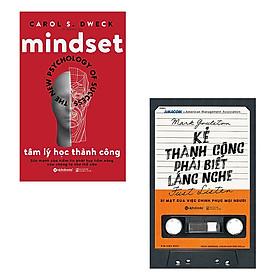 Bộ 2 cuốn sách về thành công: Tâm Lý Học Thành Công + Kẻ Thành Công Phải Biết Lắng Nghe