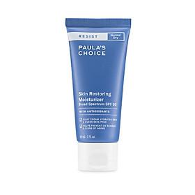 Kem chống nắng phổ rộng dưỡng ẩm tế bào, Paula's Choice Resist Skin Restoring Moisturizer SPF 50 60ml Mã: 7970
