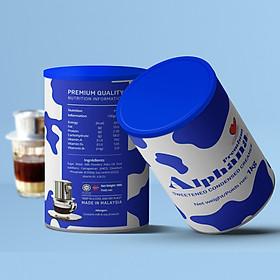 Sữa Đặc Có Đường Premium Alphana nhập khẩu Malaysia Lon 1kg thành phần đạm tỷ lệ cao đến 2.3% không Cholesterol