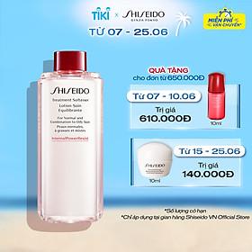 Nước cân bằng Shiseido Treatment Softener 150ml (Refill)