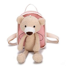 Balo gấu đi học, đi chơi cho bé dễ thương