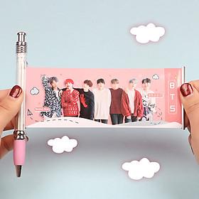 Bút BTS in hình cả nhóm