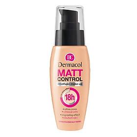 Kem Nền Kiềm Dầu Dermacol Matt Control Make-up 30ml-0