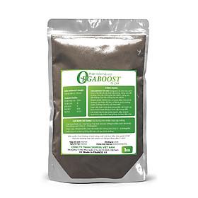 Phân bón hữu cơ Orgaboost -1Kg - Dùng cho rau sạch vườn hữu cơ, Hoa và cây cảnh